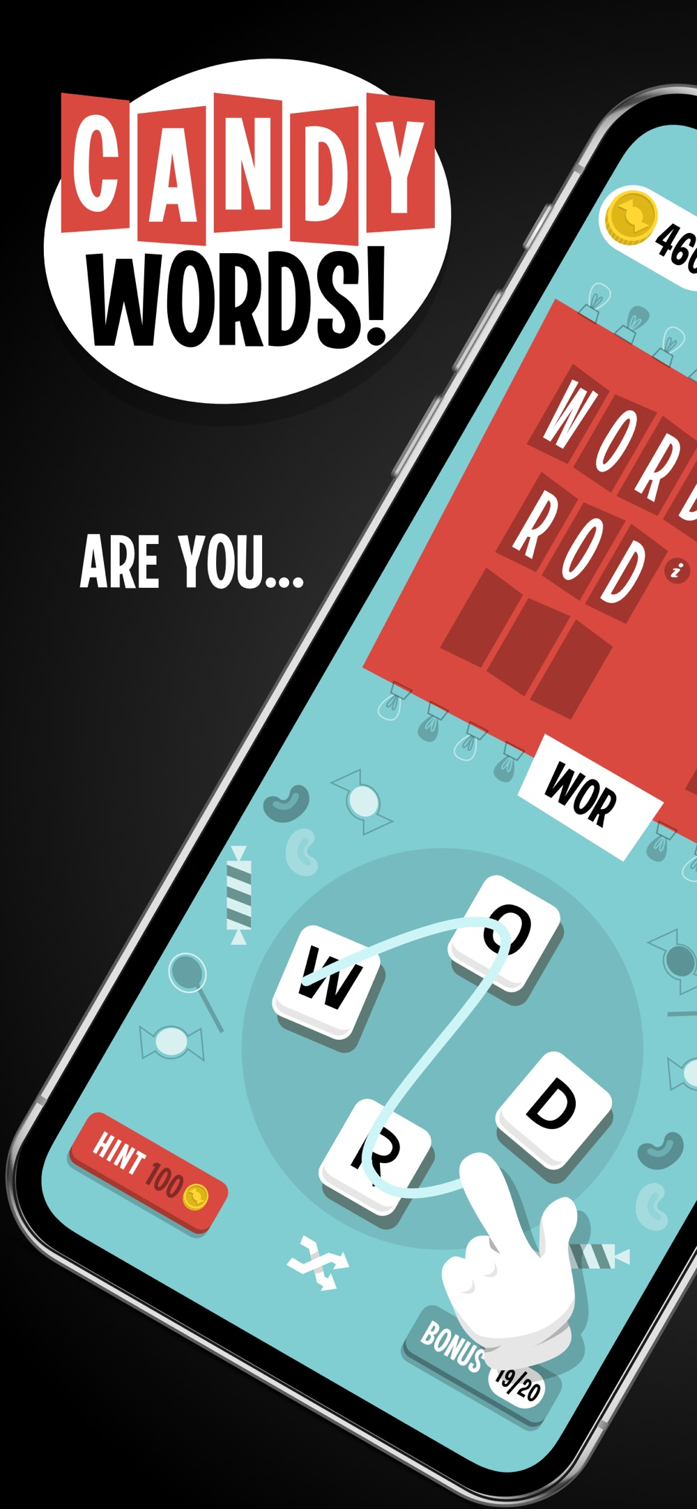 Candy Words! Cheat Codes