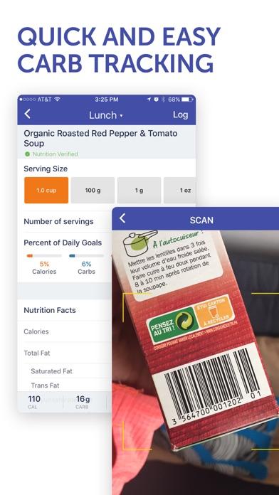 Glucose Buddy Diabetes Tracker screenshot two