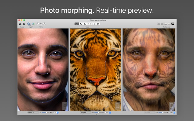 ‎Morph Age - Image Morphing