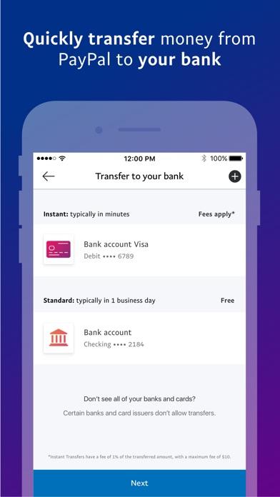 PayPal: Mobile Cash app image