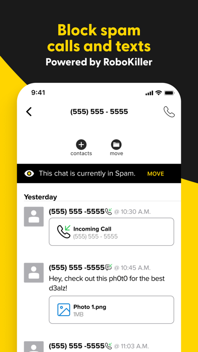 SwitchUp - Second Phone Number Screenshot