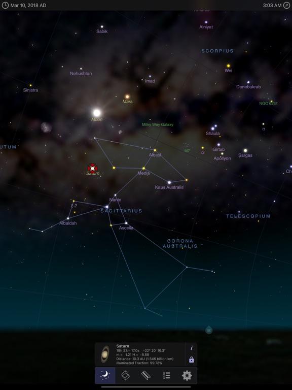 Screenshot #1 for StarMap 3D