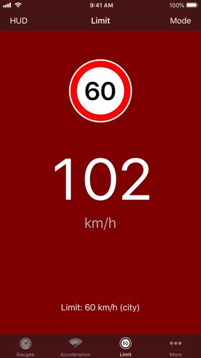Screenshot for Speedometer∞ in Sweden App Store