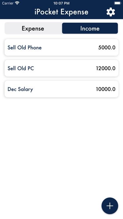iPocket Expense Tracker screenshot-4