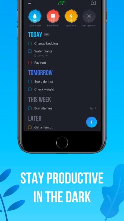 Tappsk: Daily Schedule Planner screenshot-5