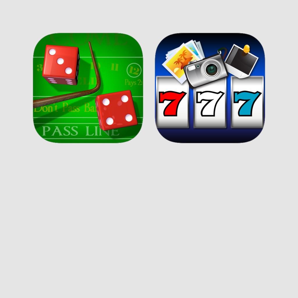 Casino Bundle - Craps HD + Photo Slots!