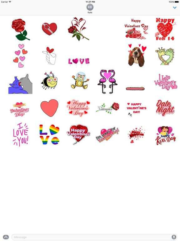 Animated Happy Valentine's Day screenshot 3