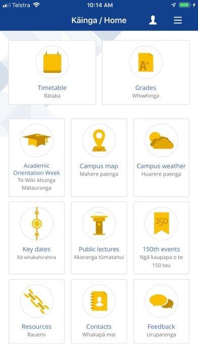 Screenshot for University of Otago in New Zealand App Store