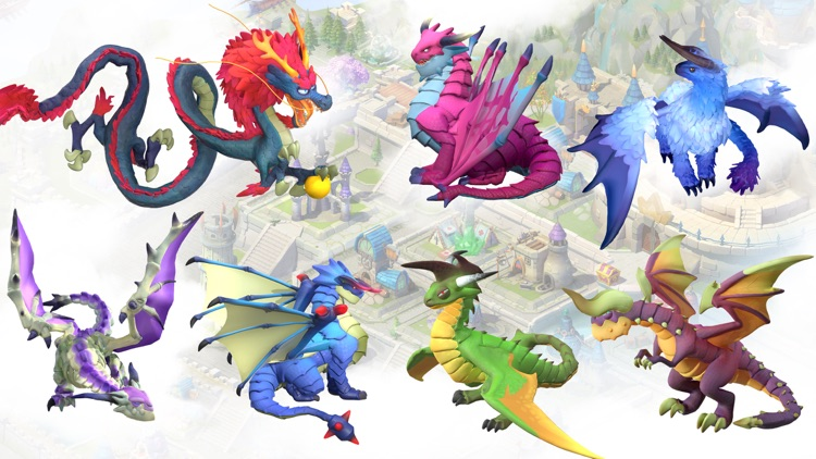 Sky Kingdoms: Dragon War screenshot-5