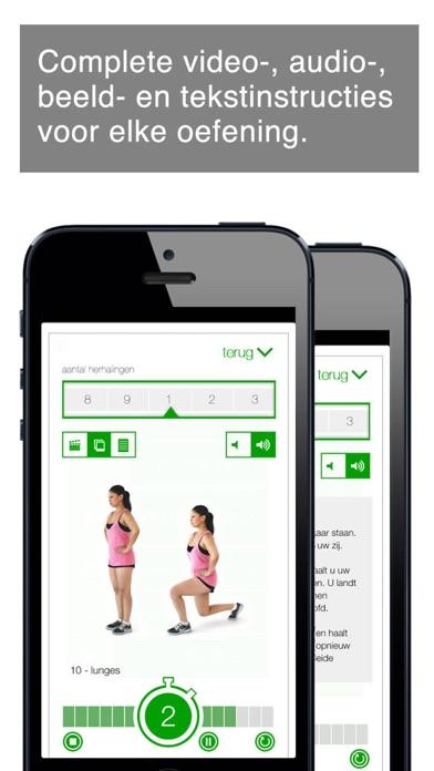 workout van 7 minuten iPhone app afbeelding 2