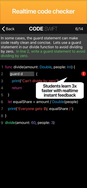 Code! Learn Swift Version on the App Store