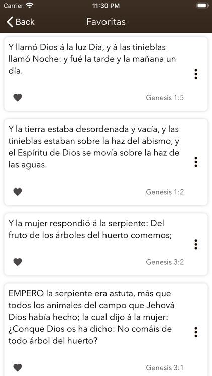 Santa Biblia Reina Valera screenshot-4