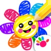 宝宝画画软件! 儿童游戏2-3岁