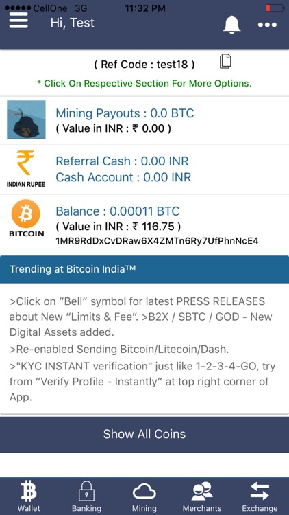 WazirX - Bitcoin, Crypto Trading Exchange India