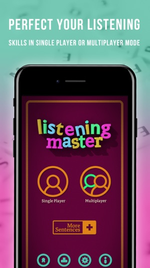 English Listening Master Screenshot
