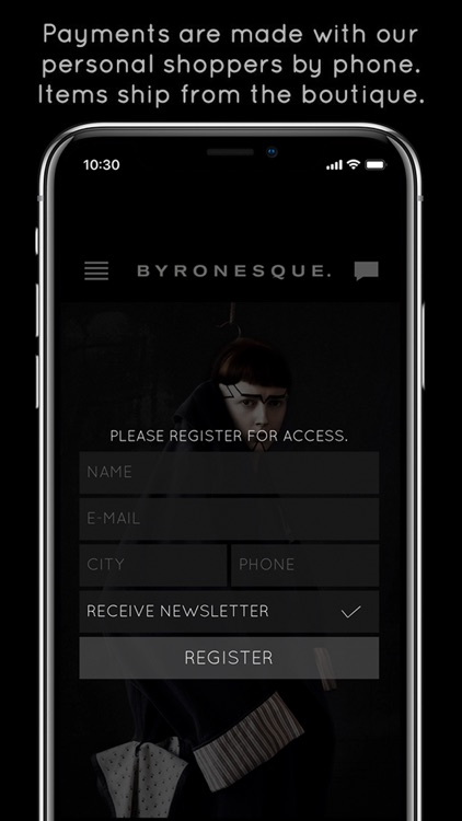 Byronesque Personal Shopper screenshot-4