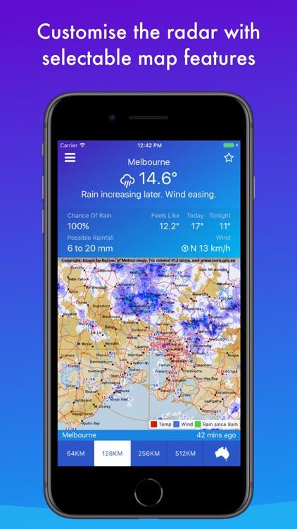 AUS Rain Radar - Bom radar screenshot-3