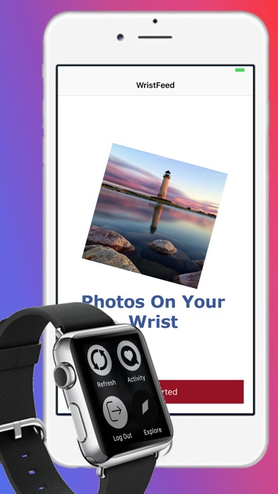 WristFeed for Instagram screenshot 2