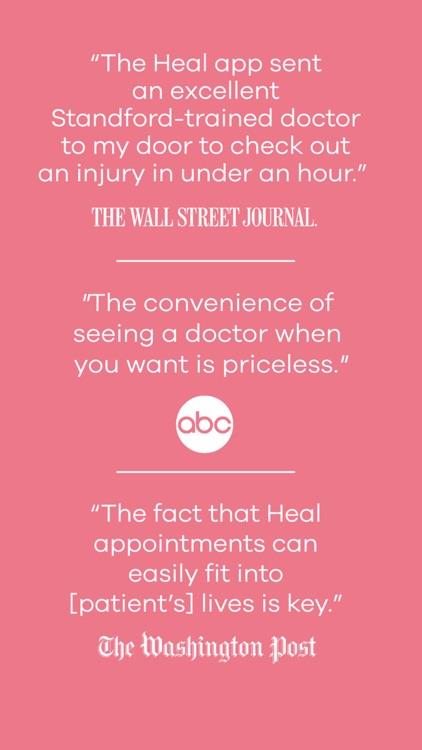 Heal – House Calls On-Demand screenshot-8