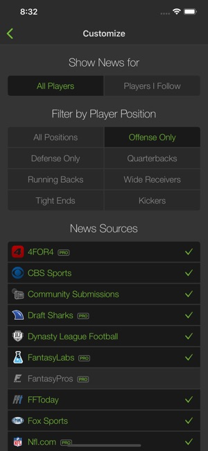 Playerline Fantasy Sports News on the App Store