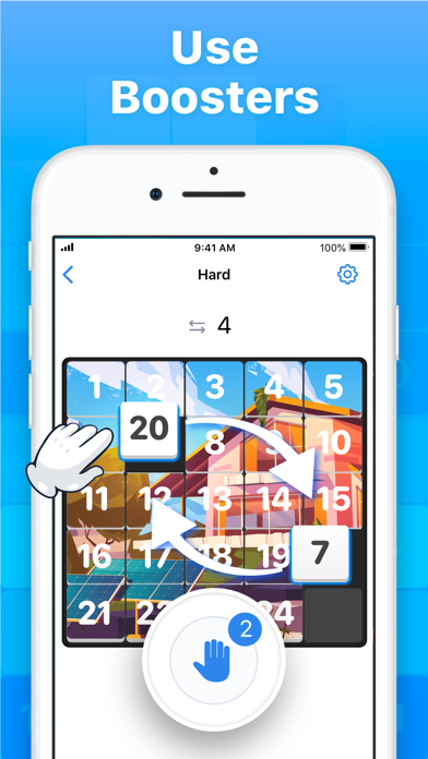 Slide Puzzle - Number Game screenshot 4