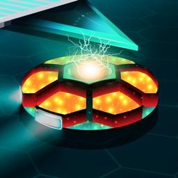Space Geometry Neon Challenge