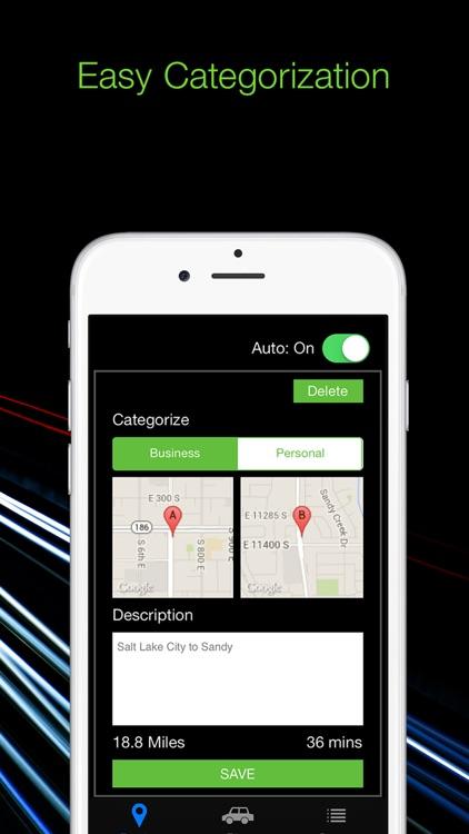 TrackMyDrive - Mileage Tracker screenshot-3