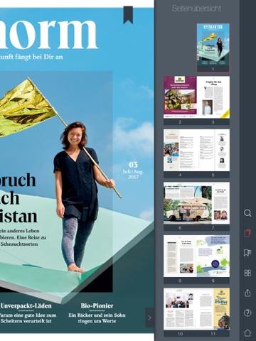 enorm Magazin - náhled