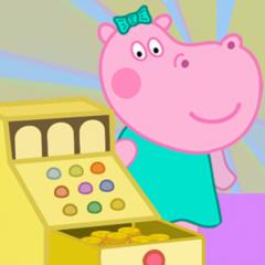 Funny Shop Hippo shopping game