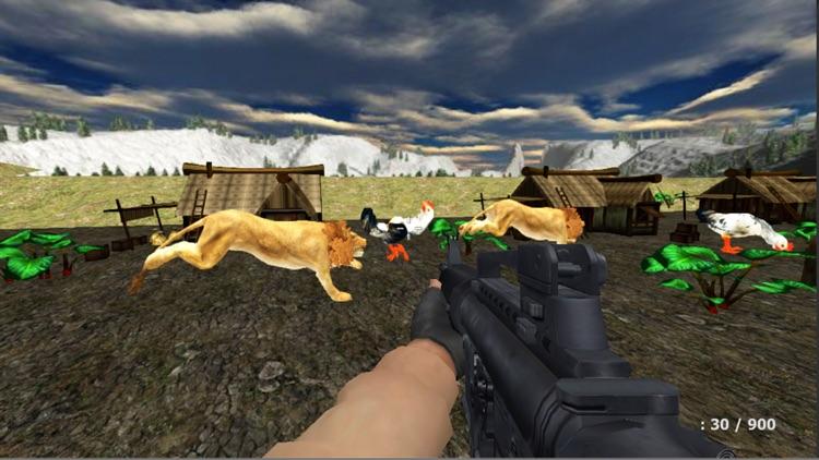 Frenzy Chicken Shooter Game 3D screenshot-3
