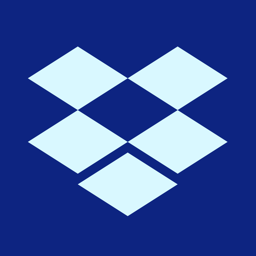 Ícone do app Dropbox - Salve, compartilhe