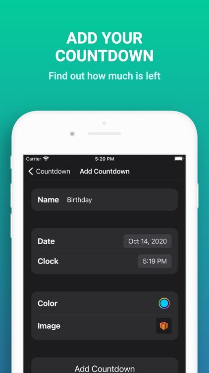 Countdown Widget Pro screenshot-3