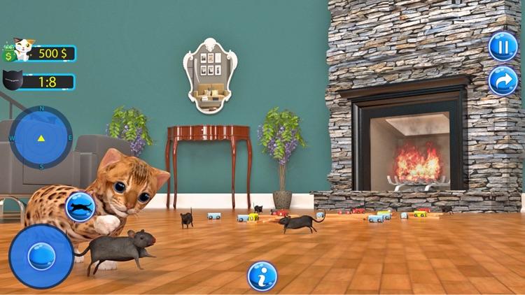 My Cute Little Kitten:Pet Game screenshot-4