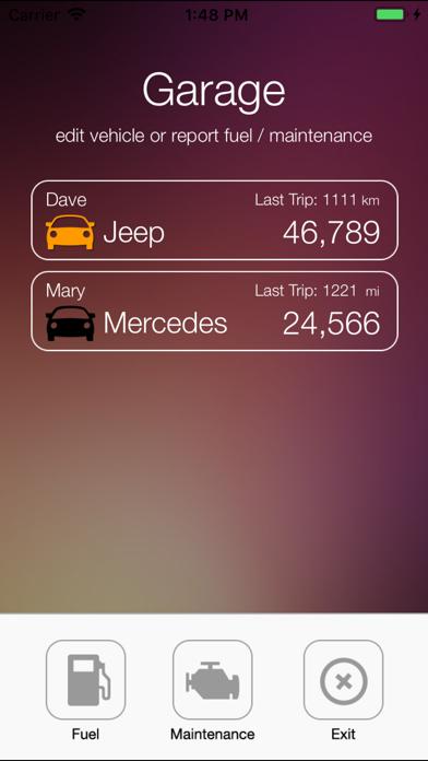 iTrack Mileage Calculator screenshot four
