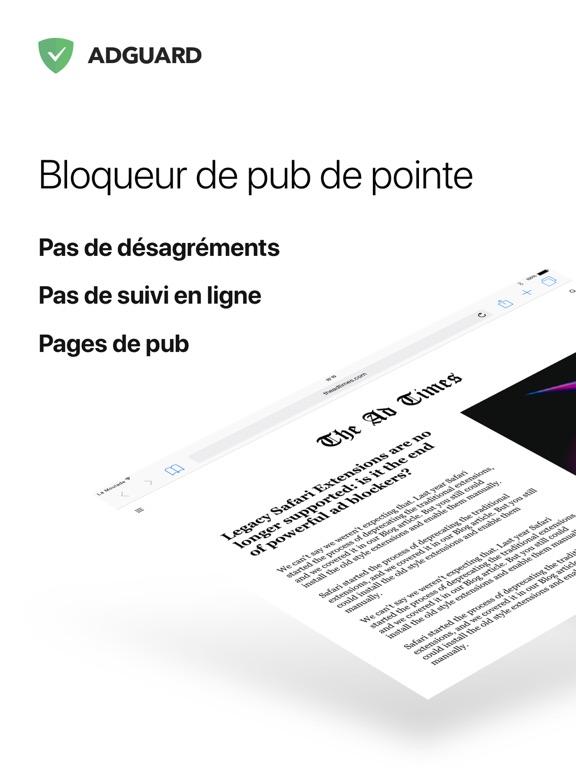 AdGuard Pro — adblock avancé