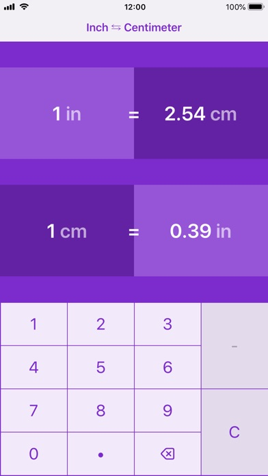 Screenshot 6 For Inches To Centimeters