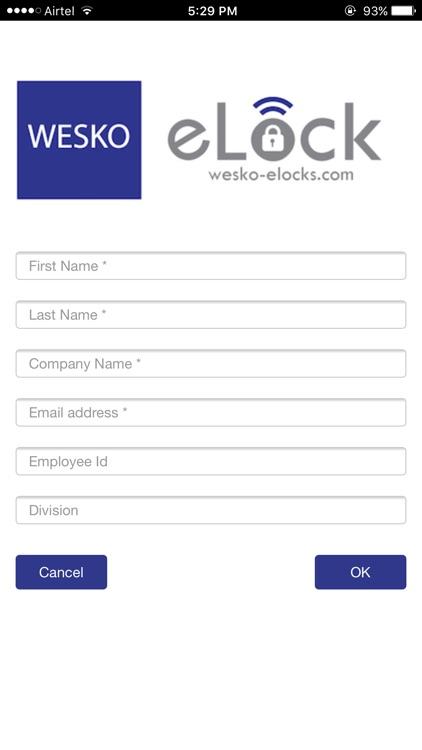 Wesko Lock App