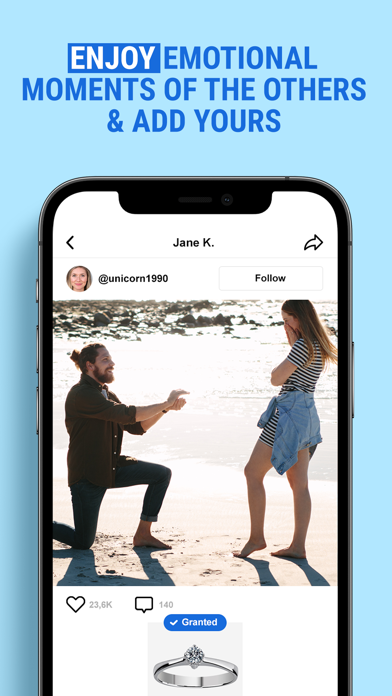 WishCloud  Dream Sharing Screenshot