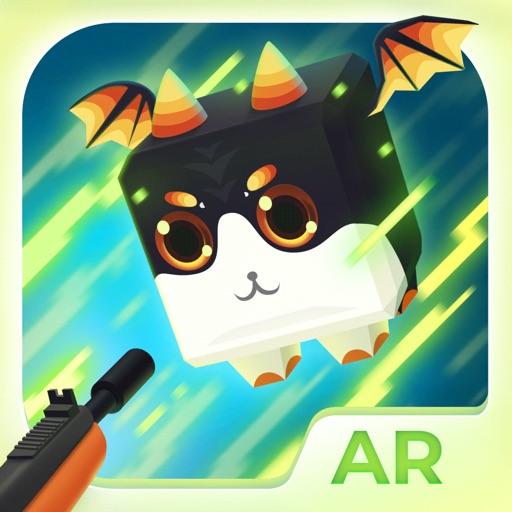 AR Devil: Block Dragon Invader
