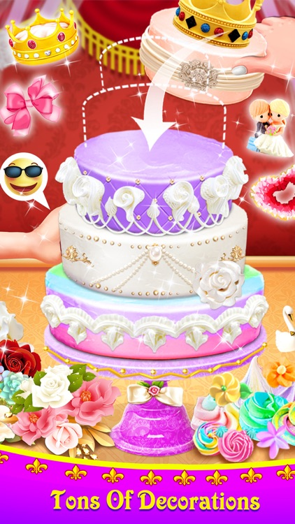 Royal Wedding Cake screenshot-3