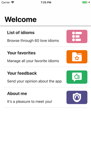 English Love Idioms on the App Store
