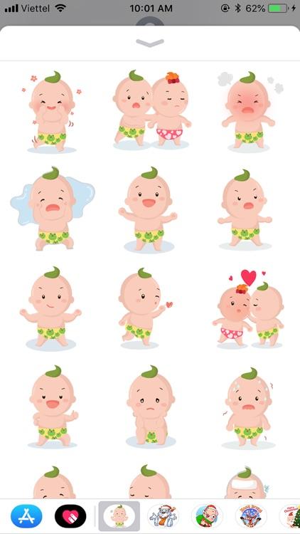 BoKidTV Emoji Funny Stickers
