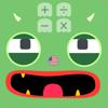 Monster calculator kid toddler