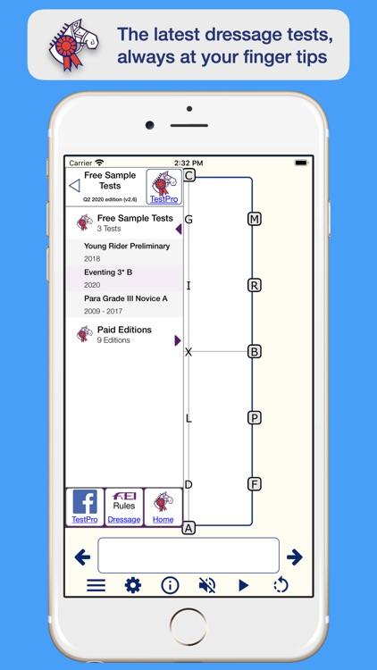 TestPro Dressage Test Sampler screenshot-0