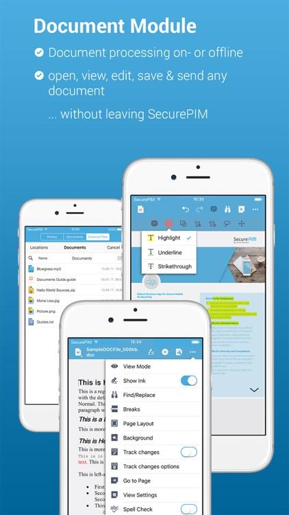 SecurePIM screenshot-6