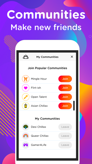 EME Hive - Meet, Chat, Go Live Screenshot