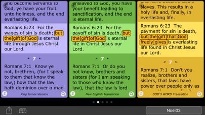 Spectrum Bible screenshot two