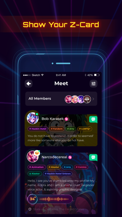 messages.download Project Z: Chat & Roleplay software