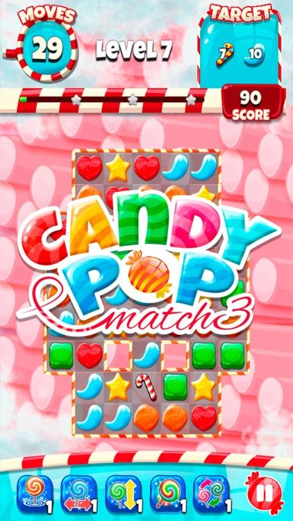 Candy Pop - Match 3 Jam screenshot-4