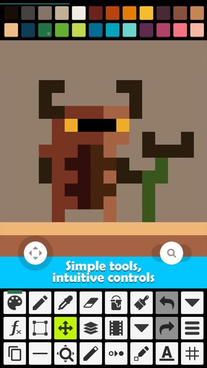 Pixel Studio PRO for pixel art screenshot-4